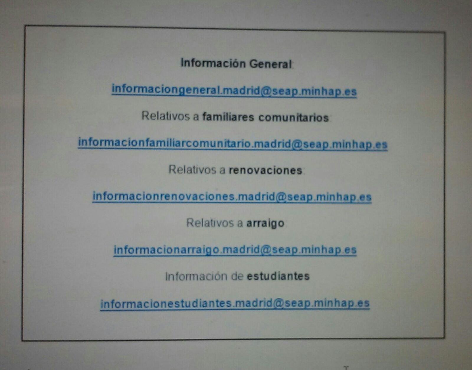 Informaci n tr mites extranjer a madrid blog extranjer a for Oficina de extranjeria madrid aluche