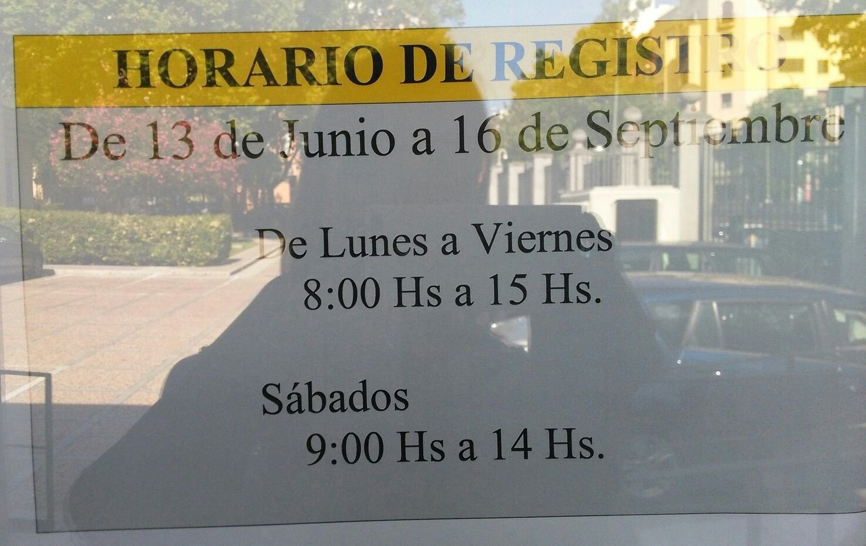 Horario registro secretar a de estado inmigraci n y for Horario oficinas bankinter madrid