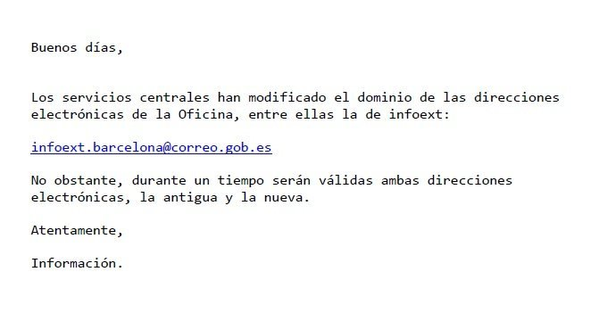Informaci n oficina de extranjer a de barcelona blog for Oficina de extranjeria aluche